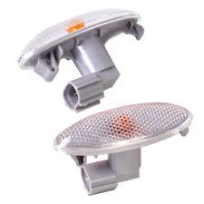 2Pcs Side Turn Signal Lamp Fender Indicator Light For Toyota Corolla Camry RAV4