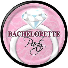 BACHELORETTE Sassy and Sweet SMALL PAPER PLATES (8) ~ Wedding Bridal Supplies