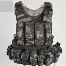 07's series China PLA Army Woodland Digital Camo Combat Tactical Vest,Set,I