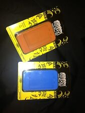 2 New iTIKI Exotic Apple iPhone 3G 3GS Skin Case Retail pack ORANGE n BLUE Matte