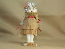 Art Deco Porcelain Doll With Dress That Would Change Color Depending on Weather