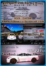 Wangan Maximum Tune 3DX+ ~ A4 R35V/Evo9/GDBF w/Racing Meter *Fixed Name*