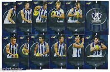 2013 Champions Silver Parallel NORTH MELBOURNE Team Set