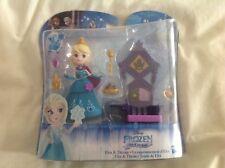 Disney Frozen Kingdom-Elsa & trono Little Snap INS Set-Nuevo
