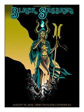 Black Sabbath Ozzy Osbourne Philadelphia/Camden 2016 Silkscreen Doyle Poster