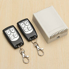 12V 4CH Channel 433Mhz Wireless Remote Control Switch With 2 Transceiver