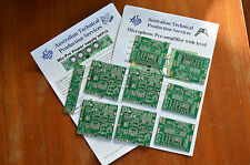 PCBs for microphone Pre-amplifier using INA217/SSM2017 - Four pack