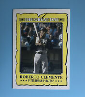 2021 Topps Heritage Roberto Clemente The Great One GO-12 Pittsburgh Pirates