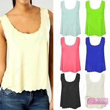Unbranded Women's Semi Fitted Scoop Neck Hip Length Tops & Shirts
