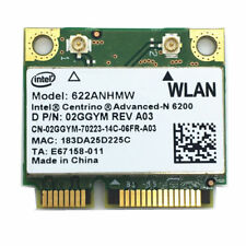 Intel 6200 622ANHMW DUAL BAND 5ghz Wifi 300Mbps Mini PCI-E WLAN WIreless Card