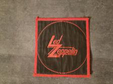 Led Zeppelin Vintage Patch - Rush Iron Maiden Black Sabbath Judas Priest