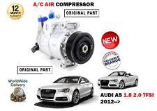 Per AUDI a5 1.8 2.0 TFSI + QUATTRO 2012 -- > NUOVO compressore ad aria AC condizione Unità