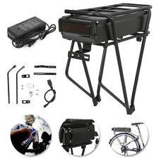 48V 18Ah Electric Bicycle Component Rear Rack w/ Charger Electric Bicycle E-Bike