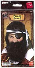 Smiffys - Barbe Pirate noire avec Elastique 5020570015018