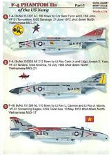 Print Scale Decals 1/72 MCDONNELL DOUGLAS F-4 PHANTOM II U.S. Navy Part 1