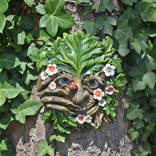 Cheeky Nose Treant Face Wall Plaque Garden Greenman Decorative Gift Deco 80313