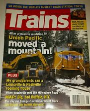 Trains Magazine August 2008
