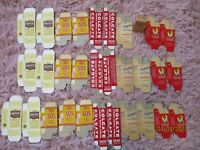 VTG MARX 1930s-1940s MINIATURE TOY GROCERY PROP BOXES (GO W/ TIN GROCERY TRUCK)