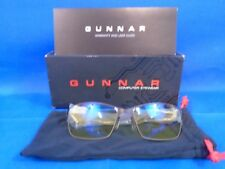 Gunnar Optiks Vayper Advanced Gaming Eyewear - Onyx Frame /Amber Lens VAY-00101