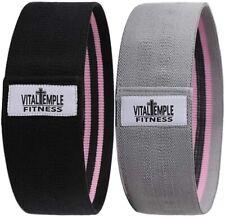 Fabric Resistance Bands Non Slip Exercise Loops for Beachbody, Yoga - USA Seller
