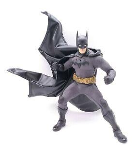 Black Faux Leather Cape for Mezco Sovereign Knight Batman (No Figure)