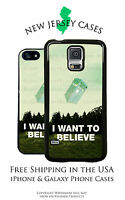 Doctor Who Tardis I Want to Believe Apple iPhone, Samsung, LG, Google Phone Case