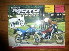 XLV750R DR125 Revue Technique moto Honda Suzuki Etat - Bon Etat Occasion