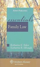 Family Law: The Essentials, Student Manual-ExLibrary