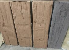 900mm x 250mm log effect stepping stones - various colours