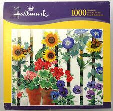 jigsaw puzzle 1000 pc Hallmark Backyard Garden Spring flowers