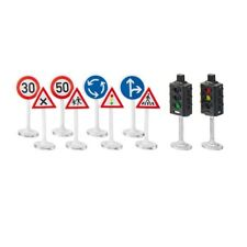 Siku World Traffic Lights & Road Signs - 5597 Stoplicht Met Borden Ampel Mit