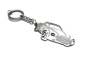 Keychain fit Chevrolet SSR Car Body 3D Design Steel Keyring Auto Porte-Clés