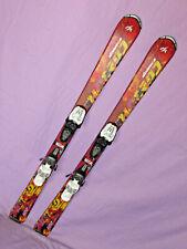 New listing Nordica HOT ROD Jr. Kids SKIS 120cm w Marker 4.5 Demo Adjustable ski Bindings ~~