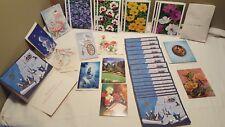Vintage Greeting Cards Lot Unused
