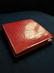 Paul Smith Signature Fine Line Pattern Wallet Red RRP £140.00