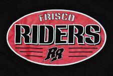 T-SHIRT MEDIUM FRISCO ROUGH RIDERS MINOR LEAGUE BASEBALL TEXAS RANGERS DOUBLE A