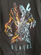 ALIENS 1986 Alien 2 vintage licensed movie promo shirt LG