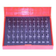 New 50 Pc M0 011 060 Plug Pin Gage Set Minus Steel 0002 Tolerance