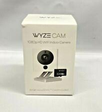 Wyze Smart Home Camera 1080p HD Wi-Fi Audio Recording, Built-in Speaker, White