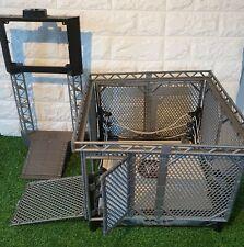 WWE Wrestling Ring TLC Match + Cage & Entrance ramp Mattel Toys