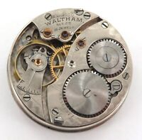GREAT MONTGOMERY DIAL / 1902 WALTHAM 0S 15J POCKET WATCH MOVEMENT & DIAL.