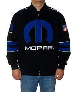 Mopar Jacket Men's Embroidered Logos Black Twill Mopar GEN4 Jacket JH Design