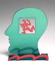 """David Gerstein / Israel """"Head Runner"""" 3D Metallskulptur"""