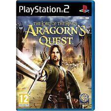 PS2 Spiel Der Herr der Ringe: Die Abenteuer von Aragorn  Neu