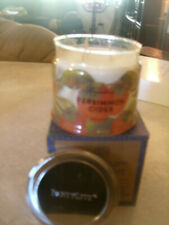 Partylite Persimmon Cider Signature 3-wick Jar Candle Brand New Fall 2016 Nib
