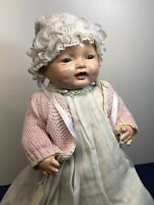 16� Vintage Antique Effanbee Doll Co. Bubbles Composition & Cloth Baby Doll #L