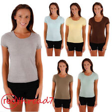 Polyester Solid Tops for Women