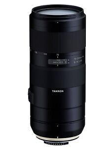 New Tamron 70-210mm f/4 Di VC USD Lens for Nikon F or Canon EF (A034)