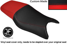 RED AND BLACK VINYL CUSTOM FITS HONDA CBR 600 F 97-98 DUAL SEAT COVER ONLY