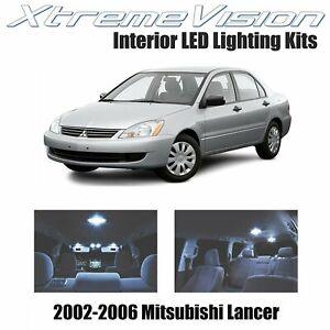 XtremeVision Interior LED for Mitsubishi Lancer 2002-2006 (4 PCS) Cool White